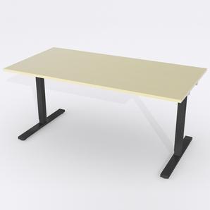 Skrivbord Rektangulär Manuell 140x80 cm Björkfanér