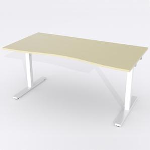 Skrivbord Ursågad Manuell 180x82 cm Björkfanér